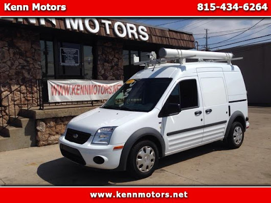 Used 2013 Ford Transit Connect XLT with Side and Rear Door Glass for Sale in Ottawa IL 61350 Kenn Motors