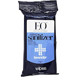EO Products Hand Sanitizer Wipes Lavender 10 Wipe(s)
