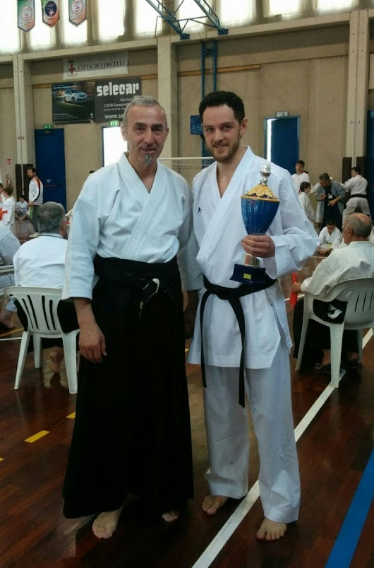 Equilibrea SSD Karate in evidenza a Vercelli