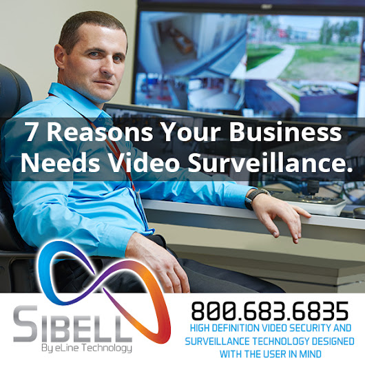 7 Reasons Your Business Needs Video Surveillance | Sibell Technology
