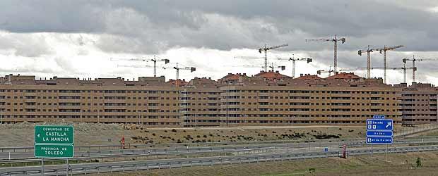 Residencial Francisco Hernández, Seseña. 90% de viviendas vacías