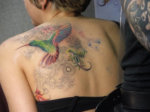 Hummingbird Tattoo Designs