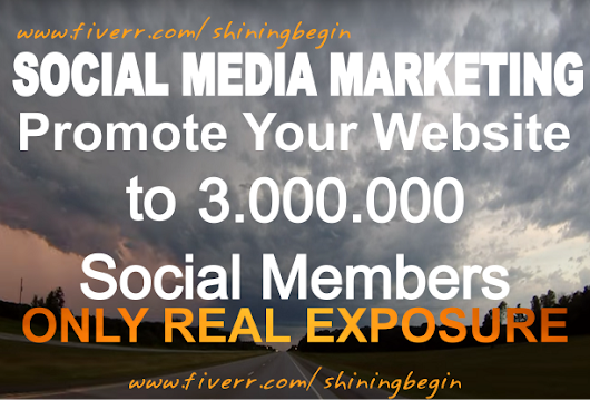 shiningbegin : I will do website social campaigns to 3mil social fans followers for visitors traffic for $5 on www.fiverr.com