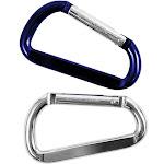 "Custom Accessories 17562 Carabineer Oversized Key Ring, 3-1/8"", 2-pack"