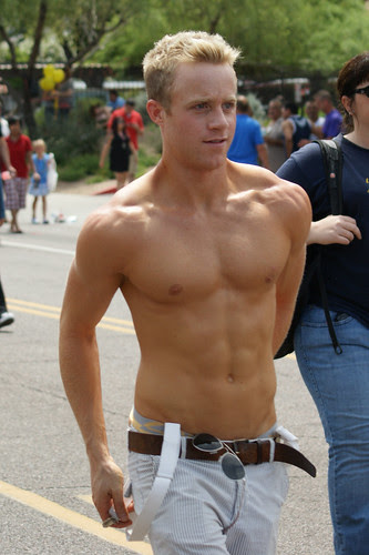 Flickr: Fritz Liess - Shirtless Guy After Phoenix Gay Pride Parade