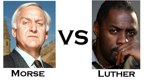 TV Detective World Series Round One - Morse vs Luther