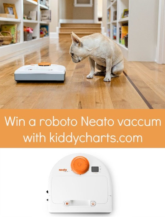 #Win a robot vacuum from Neato worth nearly £400
