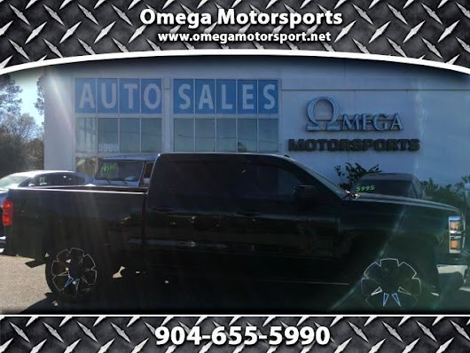 Used 2015 Chevrolet Silverado 1500 LT Crew Cab 2WD for Sale in Jacksonville FL 32246 Omega Motorsports