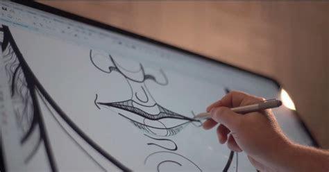 coreldraw  reproduz sensacao de desenhar  caneta
