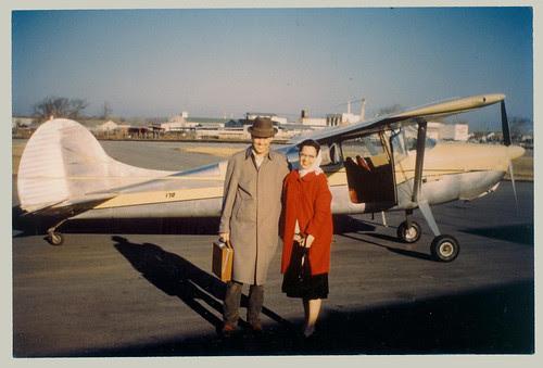 Couple and light plane