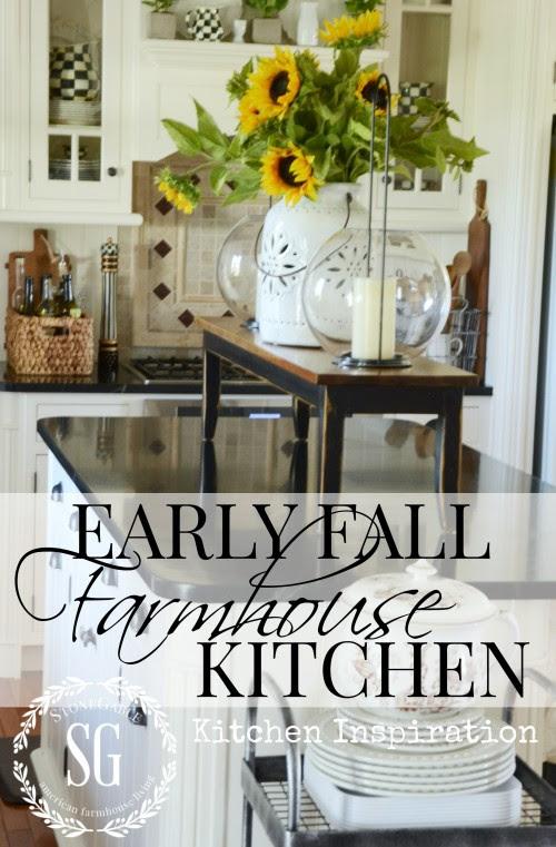 EARLY FALL FARMHOUSE KITCHEN-farmhouse inspiration-stonegableblog