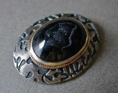 Modern Victorian brooch BAW52/3