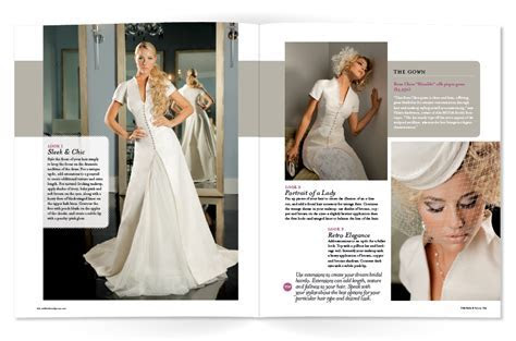 Utah Bride & Groom Magazine Fashion Layout ? DessiDesigns
