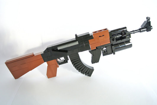 LEGO Gun of the Week - AK47 by nzglegoli