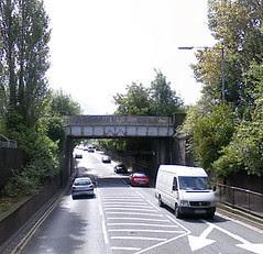 Princess drive railway bridge