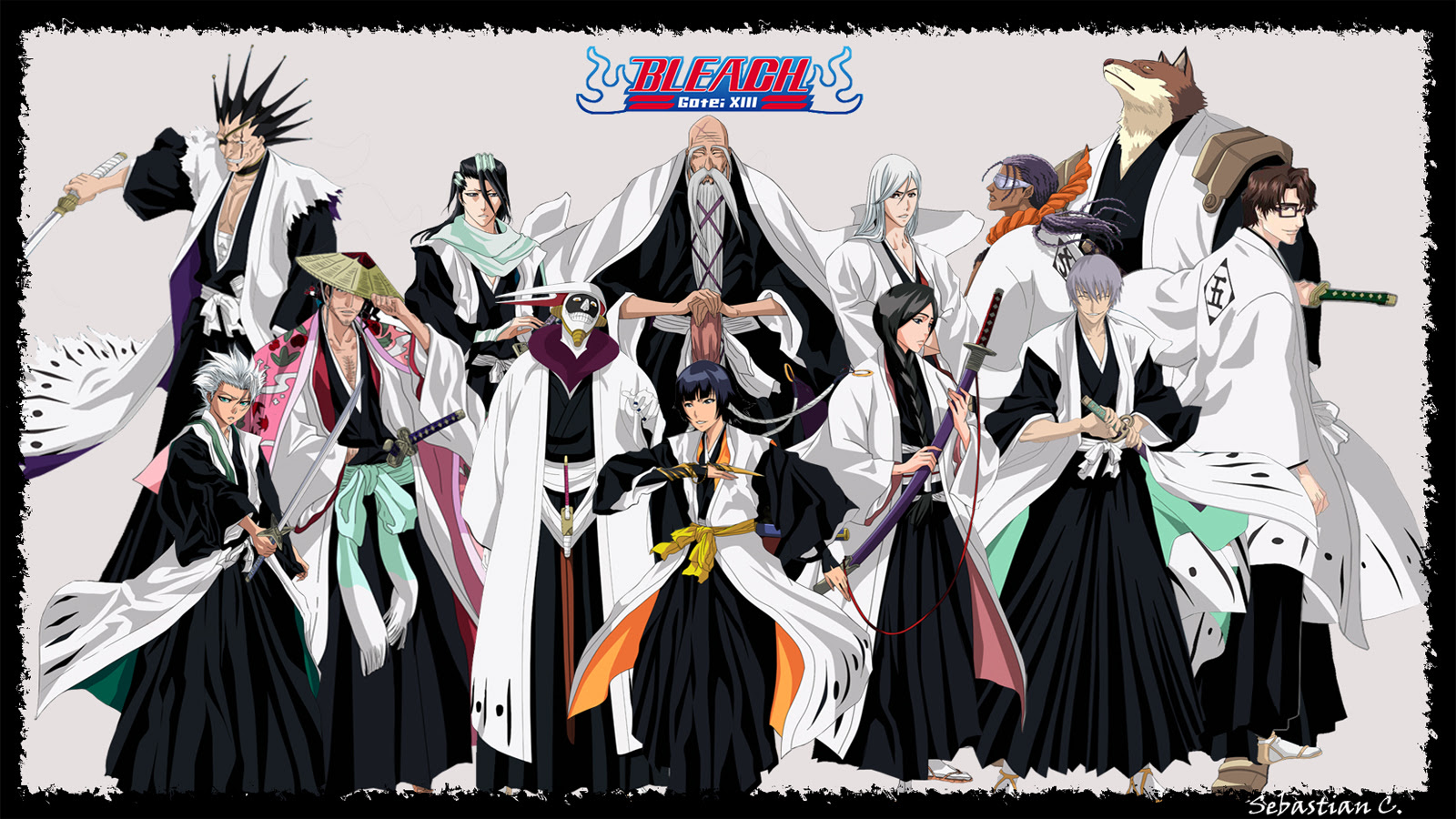 Bleach Captains