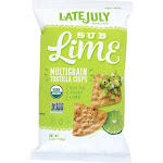 Late July Snacks Organic Multigrain Snack Chips - Sublime - 5.5 Ounce -PACK 12