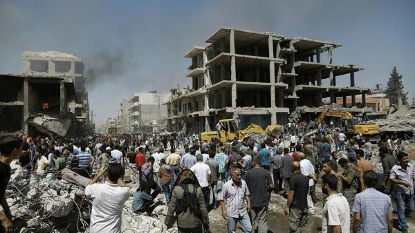 Un camión cargado con explosivos estalló en la ciudad siria de Qamishli, (AFP)