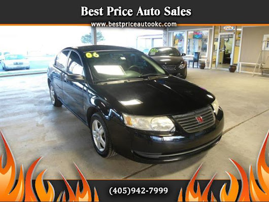 Used 2006 Saturn ION for Sale in Oklahoma City OK 73112 Best Price Auto Sales