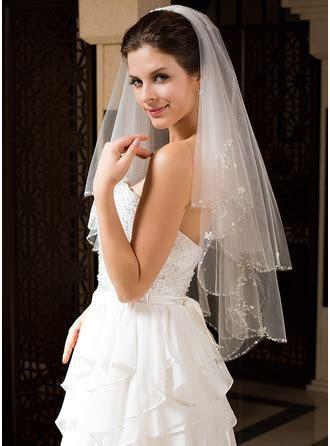 Wedding Veils in Various Styles   Cheap Bridal Veils   JJ