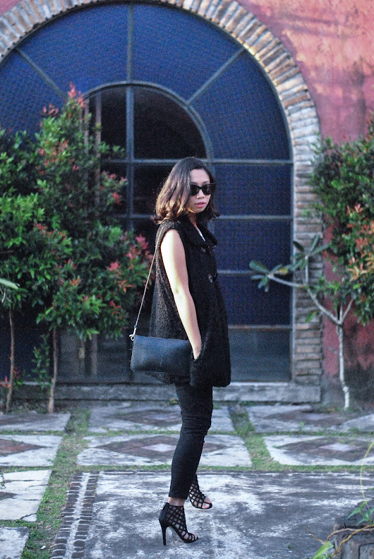 Styling Faux fur vest | Sunnies and Style