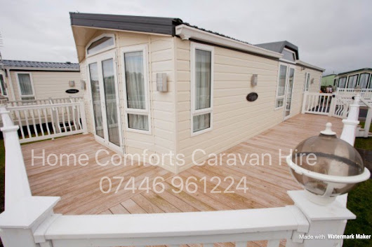 Hire a Caravan on Golden Gate Holiday Centre near Towyn