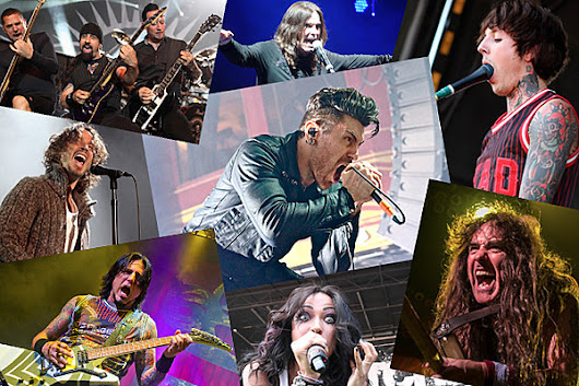Loudwire's Best Concert Photos of 2013