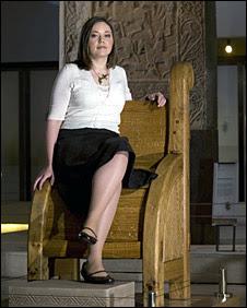 Pictish throne