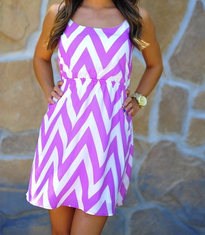 chevron Dress beautiful #topdress #anoukblokker #dresses #chevron #ChevronDress  www.2dayslook.com