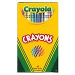Crayola Llc Formerly Binney & Smith Bin48 Crayola Regular Size Crayon 48Pk