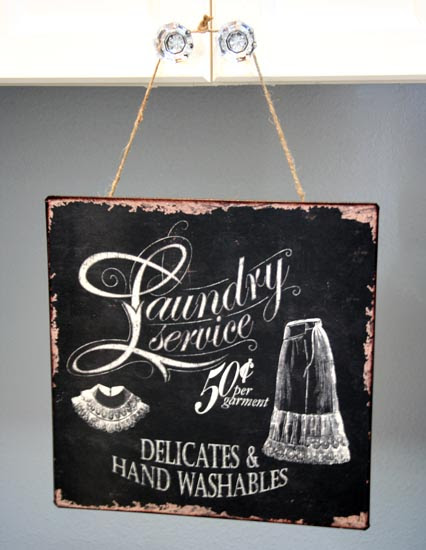Vintage Indie: The Daily Swank - Fall Nesting Laundry #