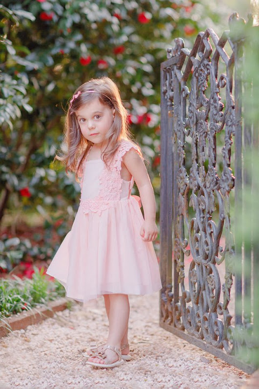 Spring Child Portrait in Athens, GA