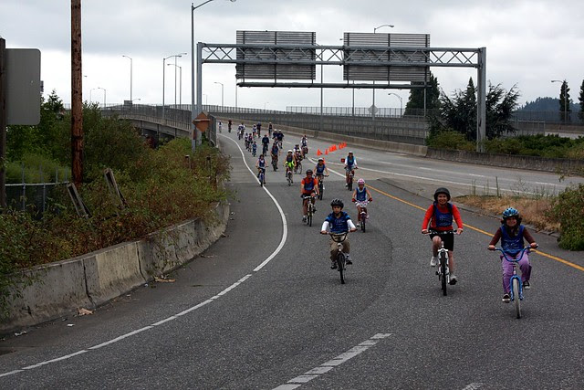 Marquam Bridge, Portland Bridge Pedal