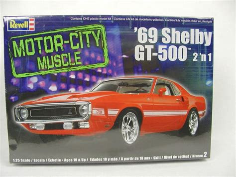 revell  model kit  shelby mustang gt factory