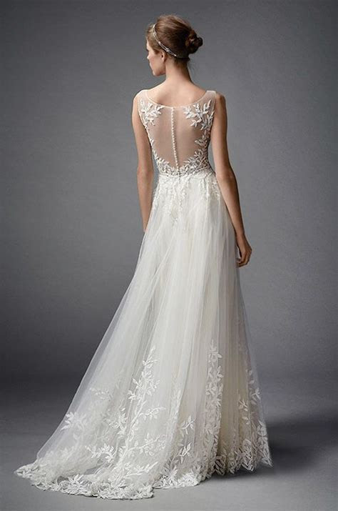 253 best Illusion Wedding Dresses images on Pinterest