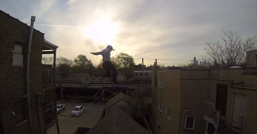 Epic Parkour Roof Jump Will Scare You to Shreds [VIDEO]