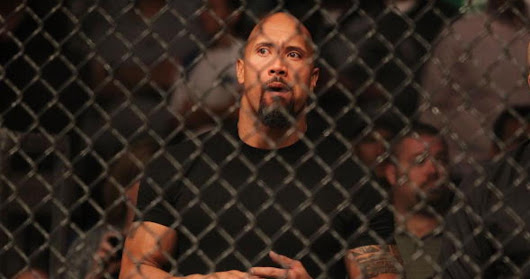 The Rock considered becoming a fighter in the UFC