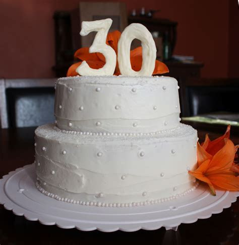 Straight to Cake: 30th Anniversary Cake