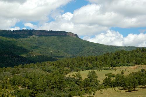 At the New Mexico/Colorado border