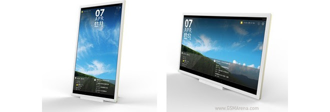 """Will you buy this 24"""" Giant Android Tablet from Toshiba?"""