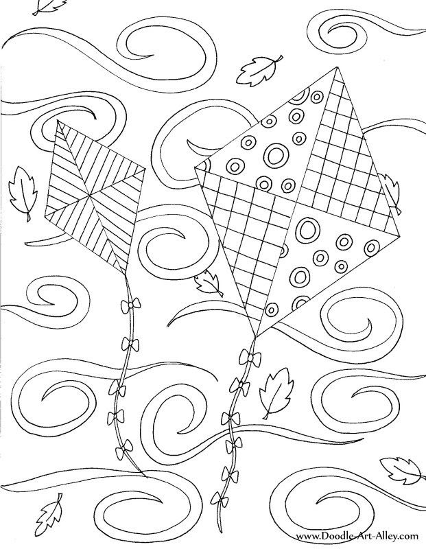 kites.jpg   adult coloring pages   Pinterest