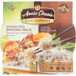 Annie Chun's Rice Express Sprouted Brown Sticky Rice - 6.3 Ounce - PACK OF 18