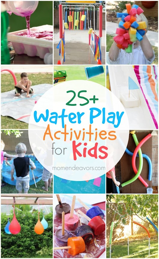 Fun Water Play Activities For Kids | How To Instructions