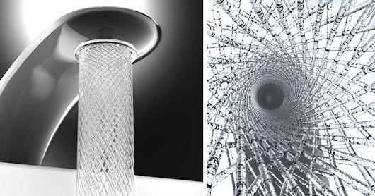 Students Design A Faucet That Saves Water By Swirling It Into Elegant Patterns