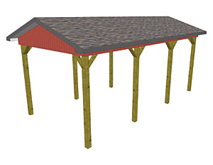 How to Build Wooden Carport | Free Car Port Plans