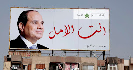 Omnipresent al-Sissi banners in Egypt inspire wave of satire as election nears - Egypt - Haaretz.com