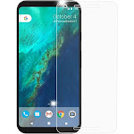 Clear Tempered Glass Screen Protector Guard Film for Google Pixel 2