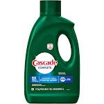 Cascade Complete Gel Dishwasher Detergent, Fresh, 75 oz