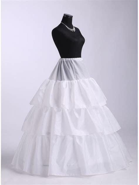 Taffeta A Line slip Ball gown slip Full gown slip Wedding