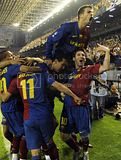 FC Barcelona pics from Copa Del Rey Final